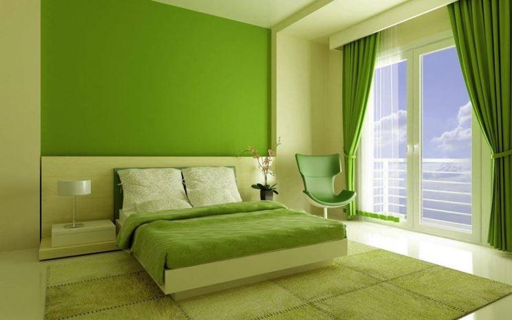Gioco di colori sulle pareti