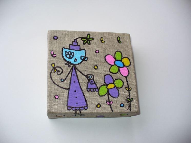 tela per pittura di lino