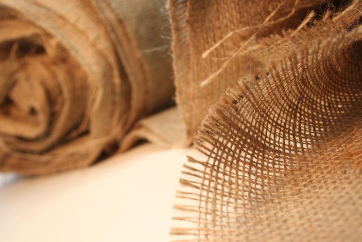 Rotolo di tela di yuta