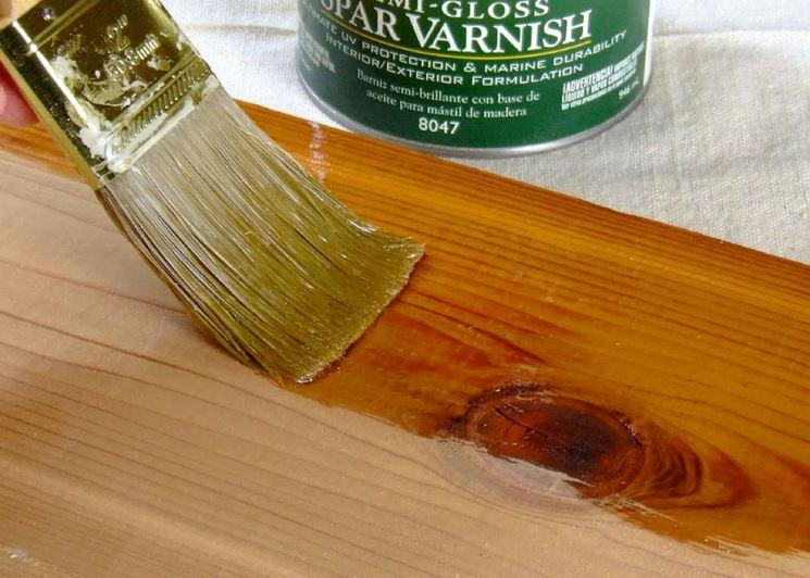 verniciatura legno