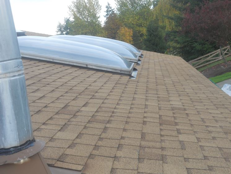 tetto a bassa pendenza