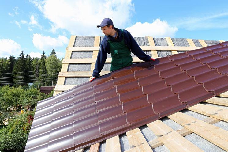 lastra in pvc per tetto