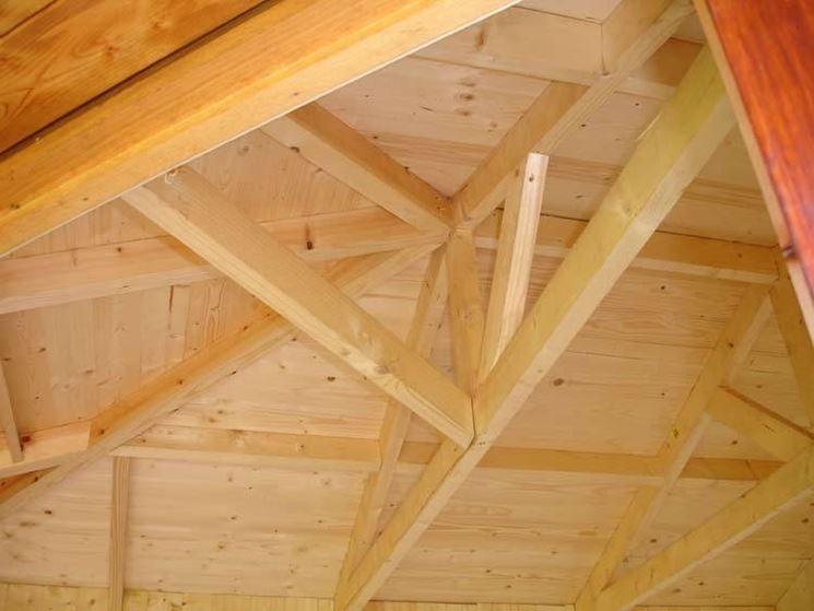 caratteristiche coperture in legno