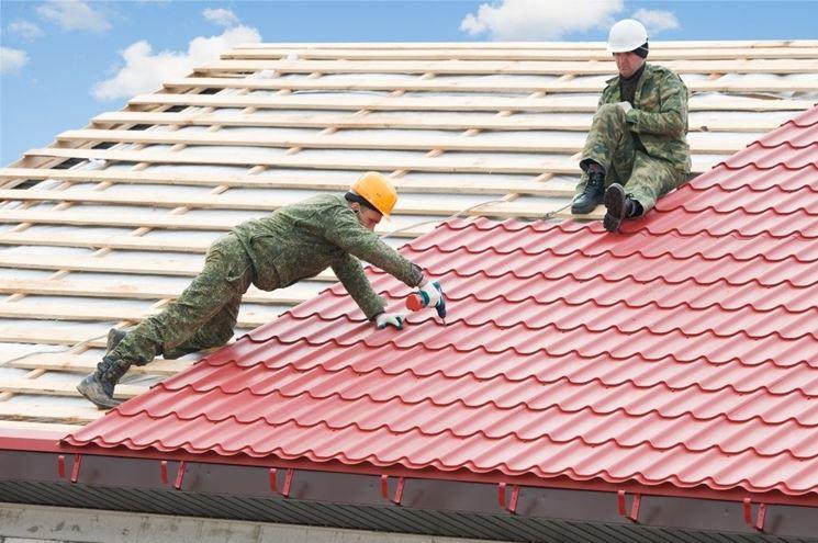 costruzione tetto inclinato