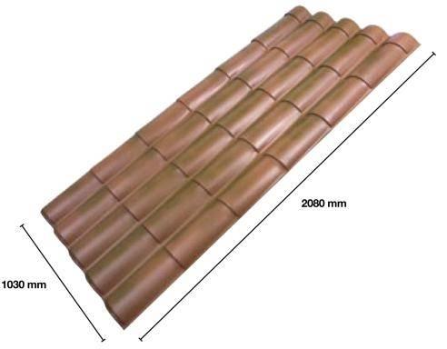 Lastre di copertura tetti tetto for Finto coppo prezzi