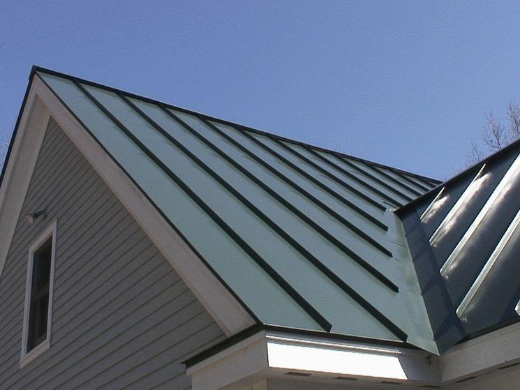 tetti in alluminio