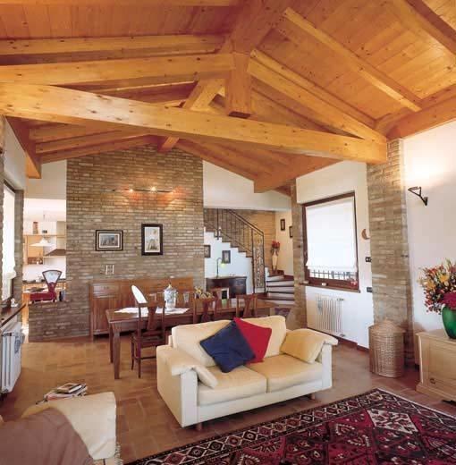 Tetti in legno tetto for Costo delle travi a vista