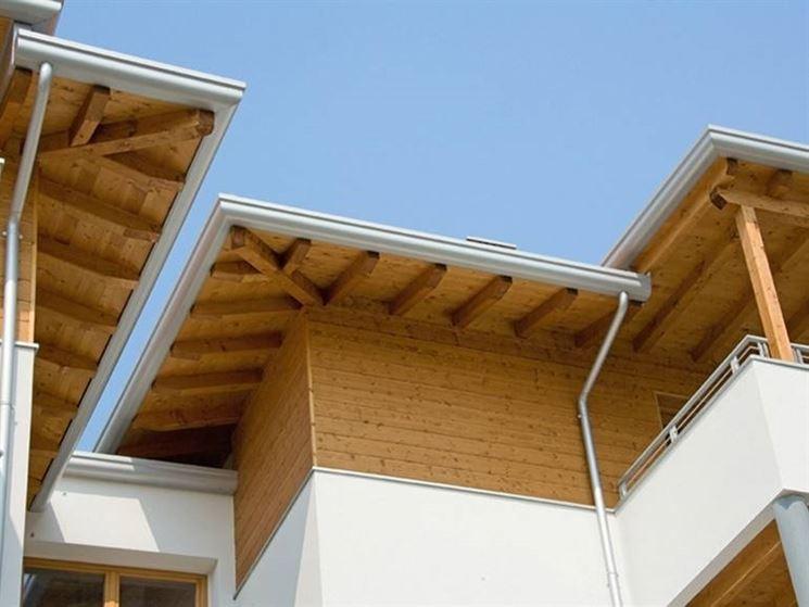 Tetto in legno ventilato with tetti in legno moderni for Galimberti case legno