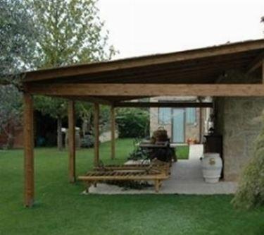 Tettoie tetto caratteristiche delle tettoie - Rifiniture giardino ...