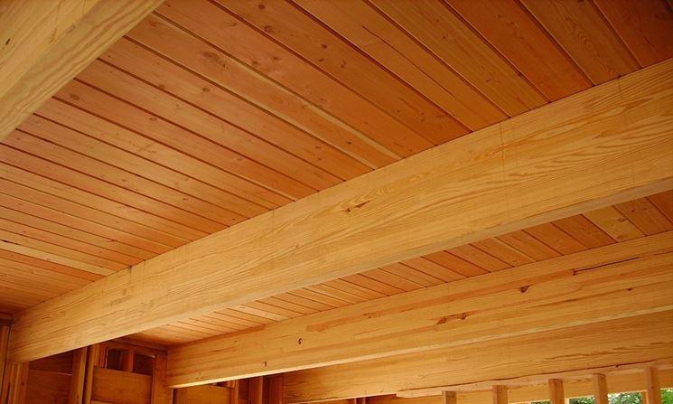 Soffitto In Legno Lamellare : Costo travi in legno travi prezzi travi in legno