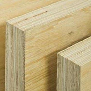 sezione trave in legno lamellare