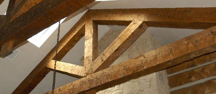 Travi in legno - Travi - Caratteristiche delle travi in legno