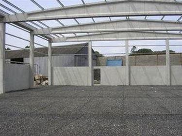 Travi prefabbricate per capannone