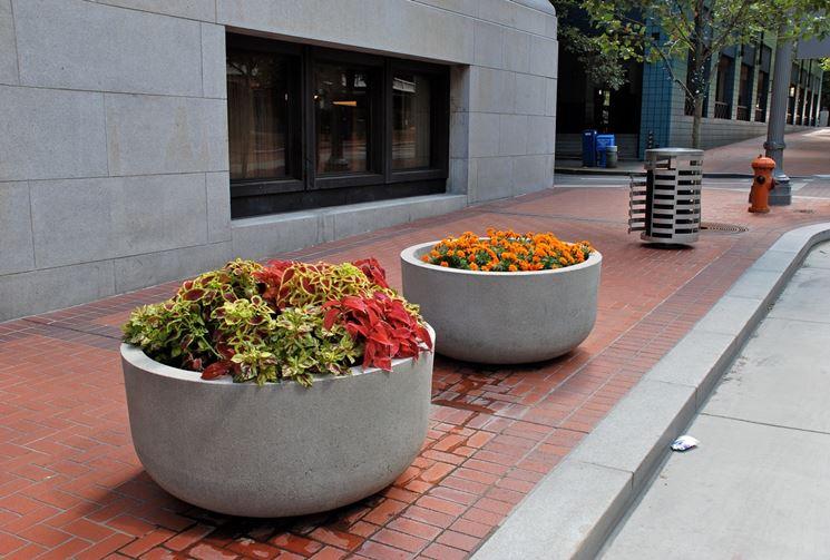 fioriere da esterno vasi modelli e tipologie delle