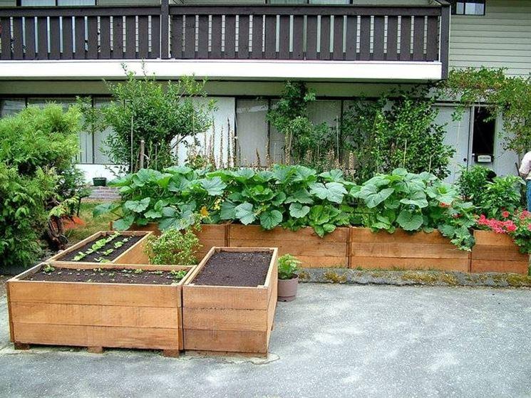 Fioriere da giardino