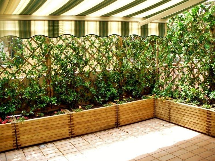 Fioriere in legno prezzi vasi quanto costano le fioriere in legno - Recinzione terrazzo ...