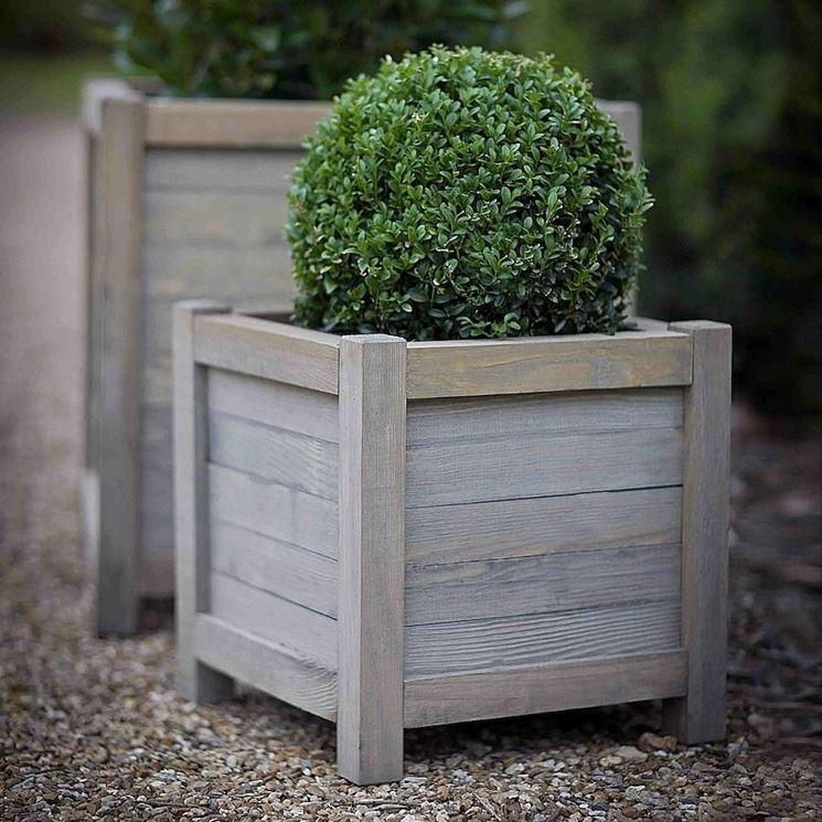 fioriere legno vasi fioriere in legno