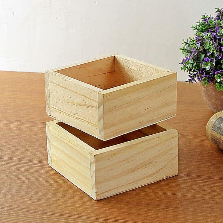 vasi in legno vasi materiale vasi