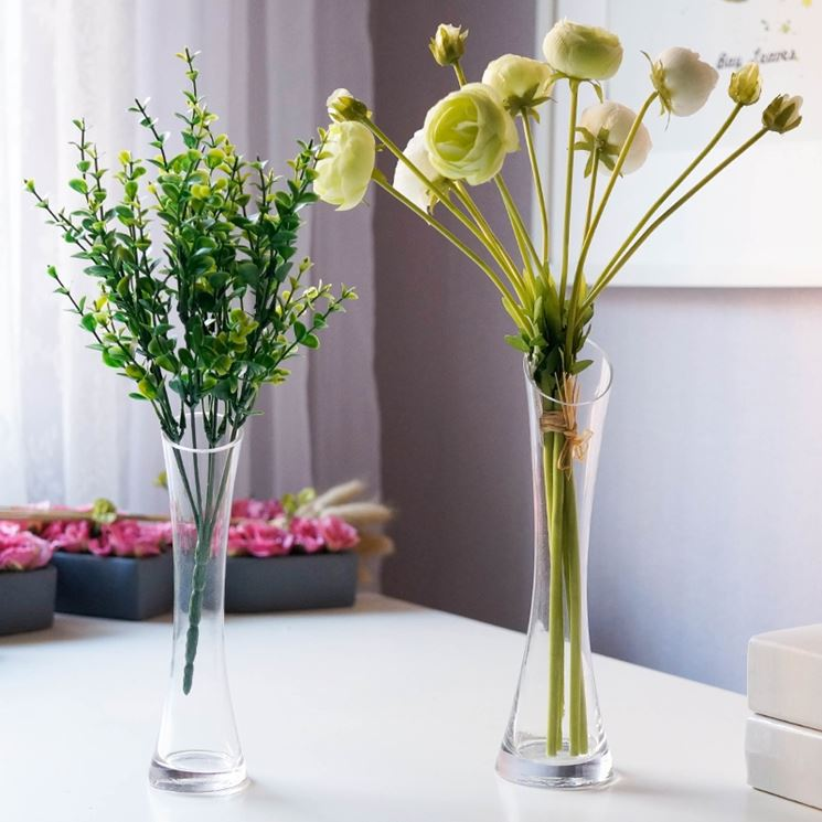 Vasi in vetro per fiori