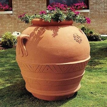 Vasi resina da esterno vasi come scegliere i vasi in for Caldaia ad acqua di plastica