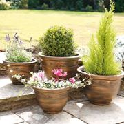 Vasi da terrazzo vasi for Vasi resina economici