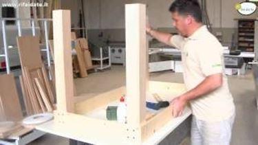 Costruire Un Tavolo In Legno Da Giardino.Come Costruire Un Tavolo In Legno Fai Da Te 2 Tutorial