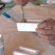 scatola rustica da bomboniera