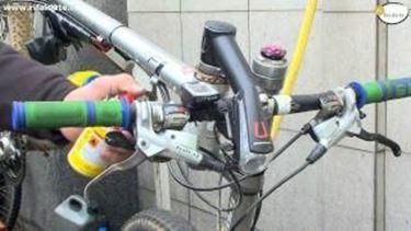Lubrificazione bicicletta tutorial
